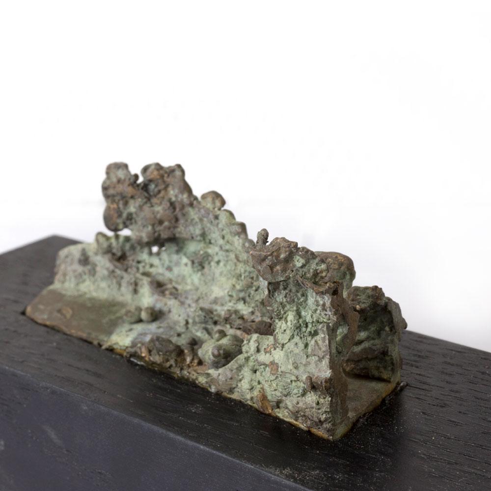 rocks, brons, beeld