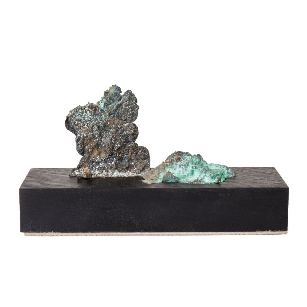 # 08, brons, hout door Veri Wisman