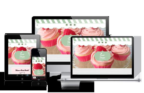 Tweet Shoppe Small Business Bakery Website