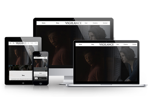 Vigilance Short Film Website