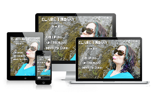 Claire Lindsay Voiceover Actor Website
