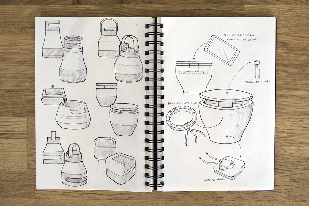 Kevin Cook Design | Socialight Early Sketches