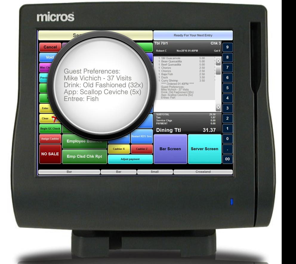 Micros, Aloha, Positouch POS Integration
