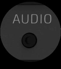 Mit dem Klinkenstecker kannst du Audiosignale sauber in Lichteffekte konvertieren