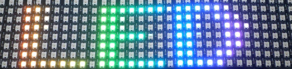 Ws2812b RGB LED Matrix