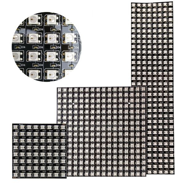 ws2812b pixel led matrix