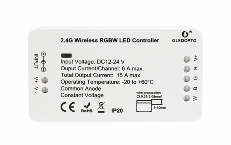 RGBW LED Controller