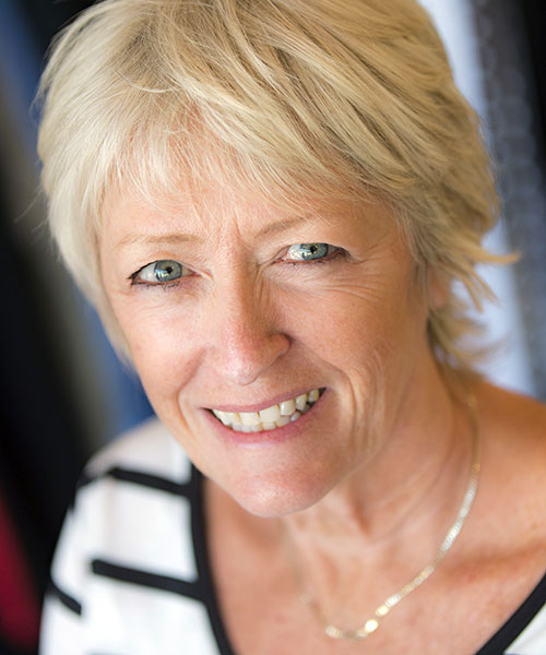 photo portrait of Gail, one of the Bakou team