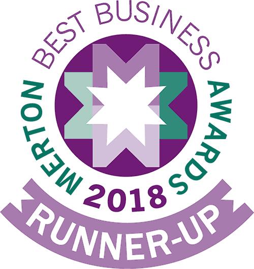 Merton Best Business Awards 2018 -Runner Up Award Graphic