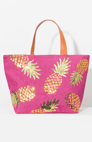 Fun summer bag from Pia Rossini at Bakou in West Wimbledon