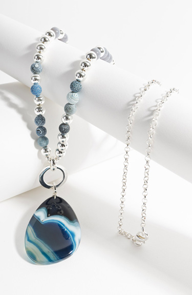 Elegant Summer Necklace from Pia Rossini at Bakou in West Wimbledon