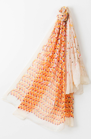 Sunny Summer Scarf from Pia Rossini at Bakou in West Wimbledon