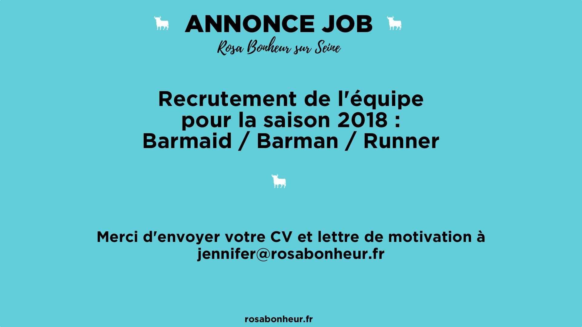 Annonce Job