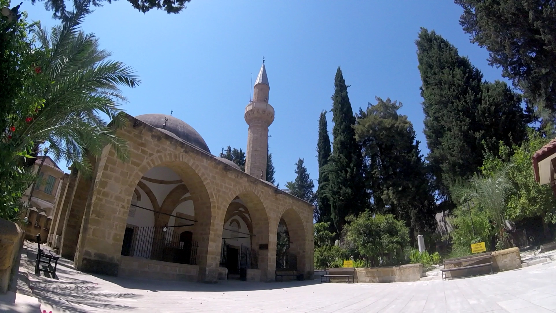 Turkish side Mosque