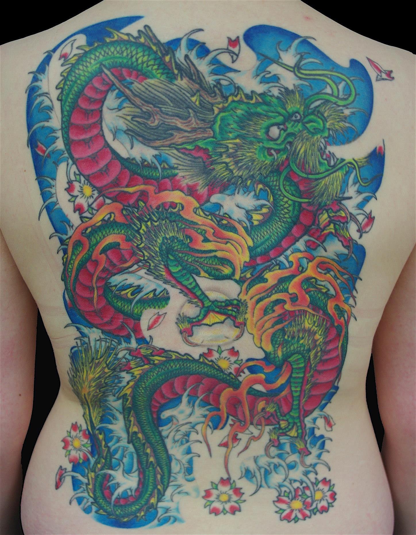 Dragon Full Color