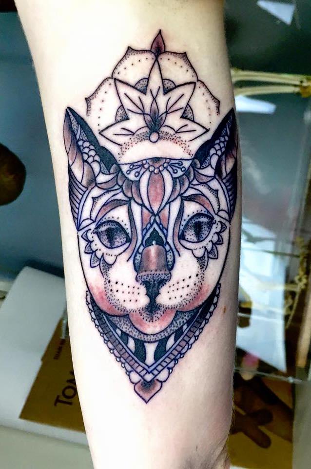 Katze Mandala