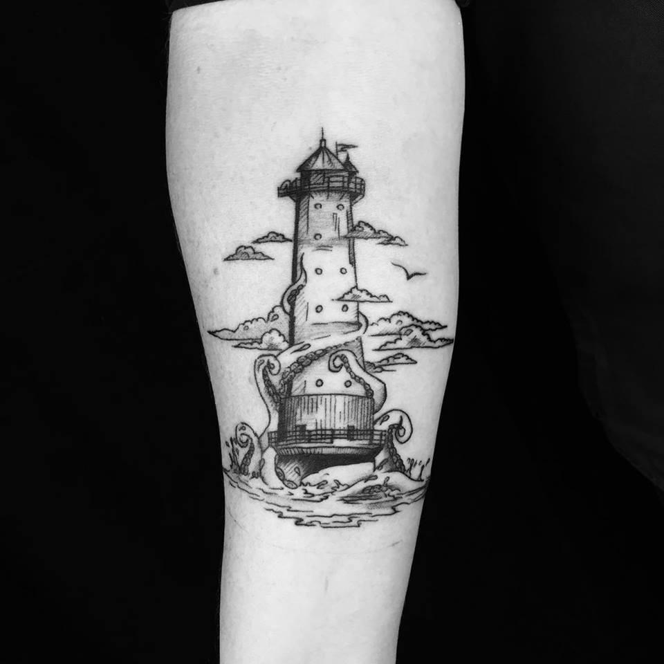 Leuchtturm Krake