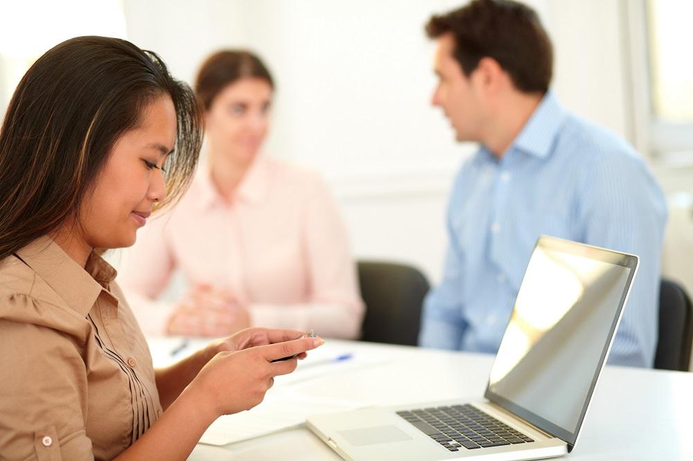 Text messaging service for teachers