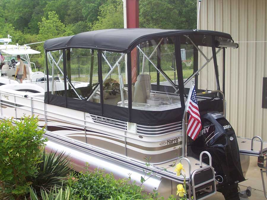 Pontoon Boat Enclosures >> Pontoon Boats Custom Marine Canvas Lake Lanier Craig S