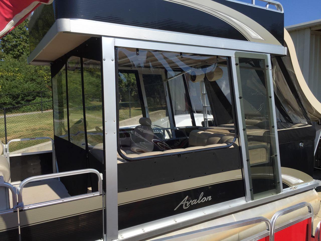 Avalon (hard top) pontoon enclosure | Featured | Craig's