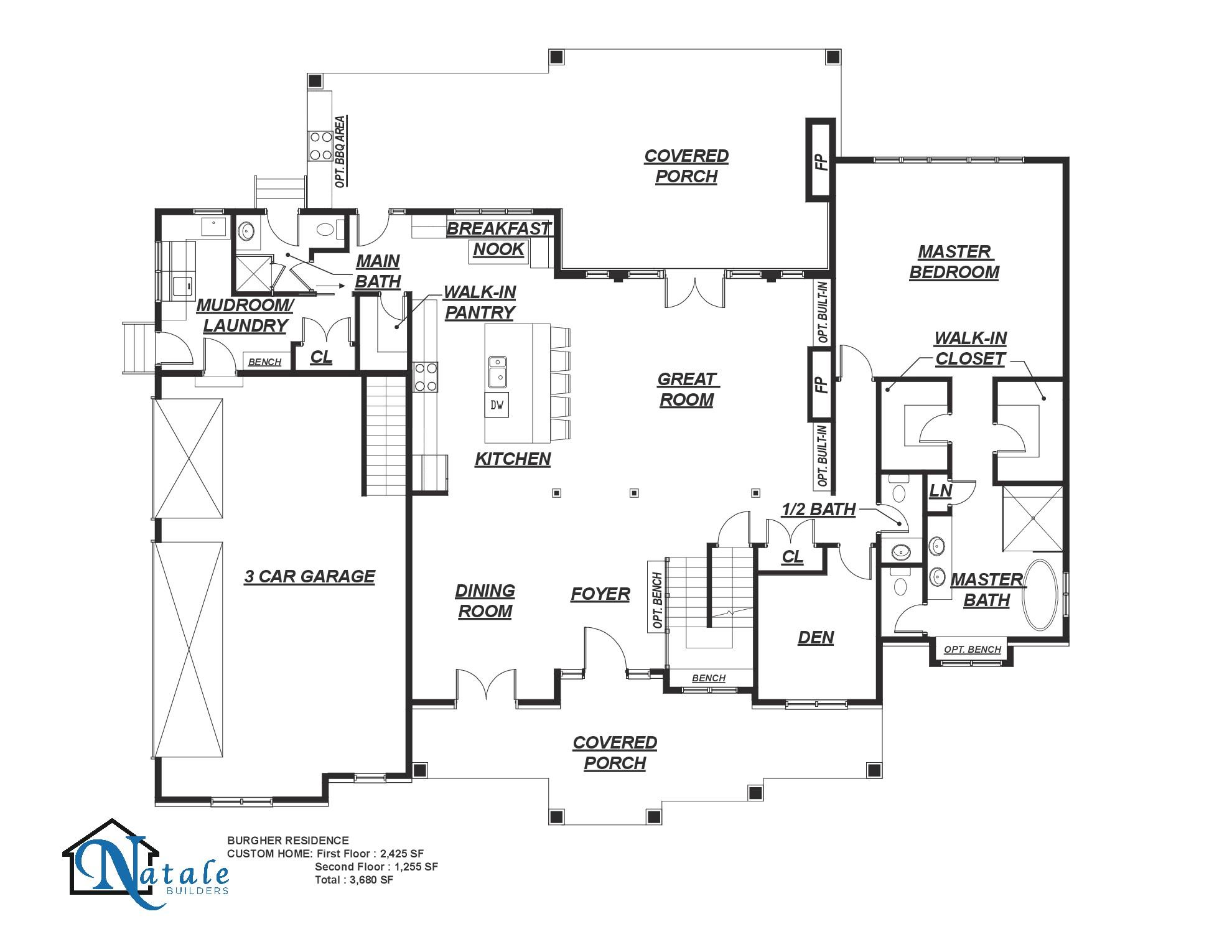[FP]The Oakland Floor Plan