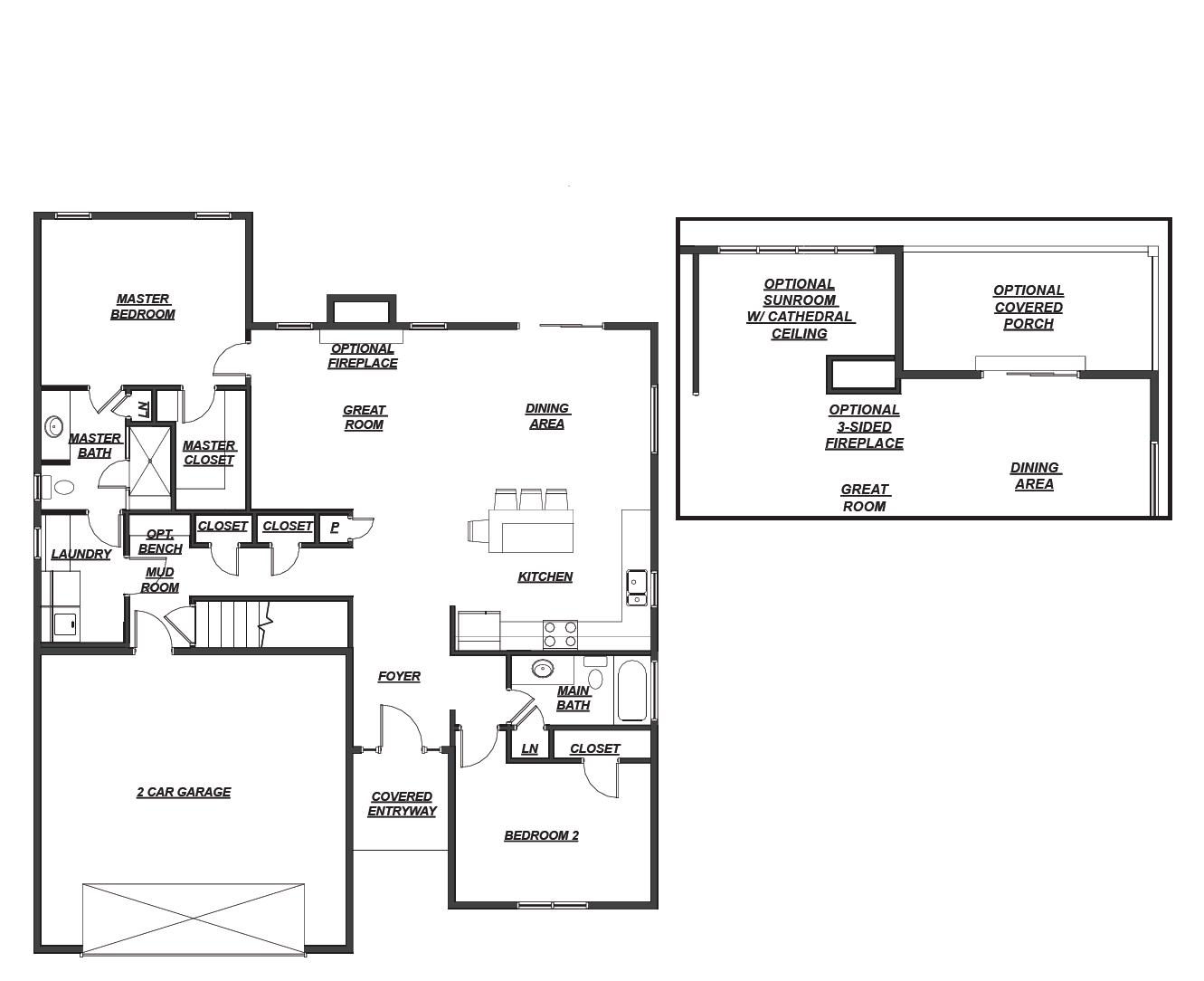 5586 Cooper Ridge Floor Plan