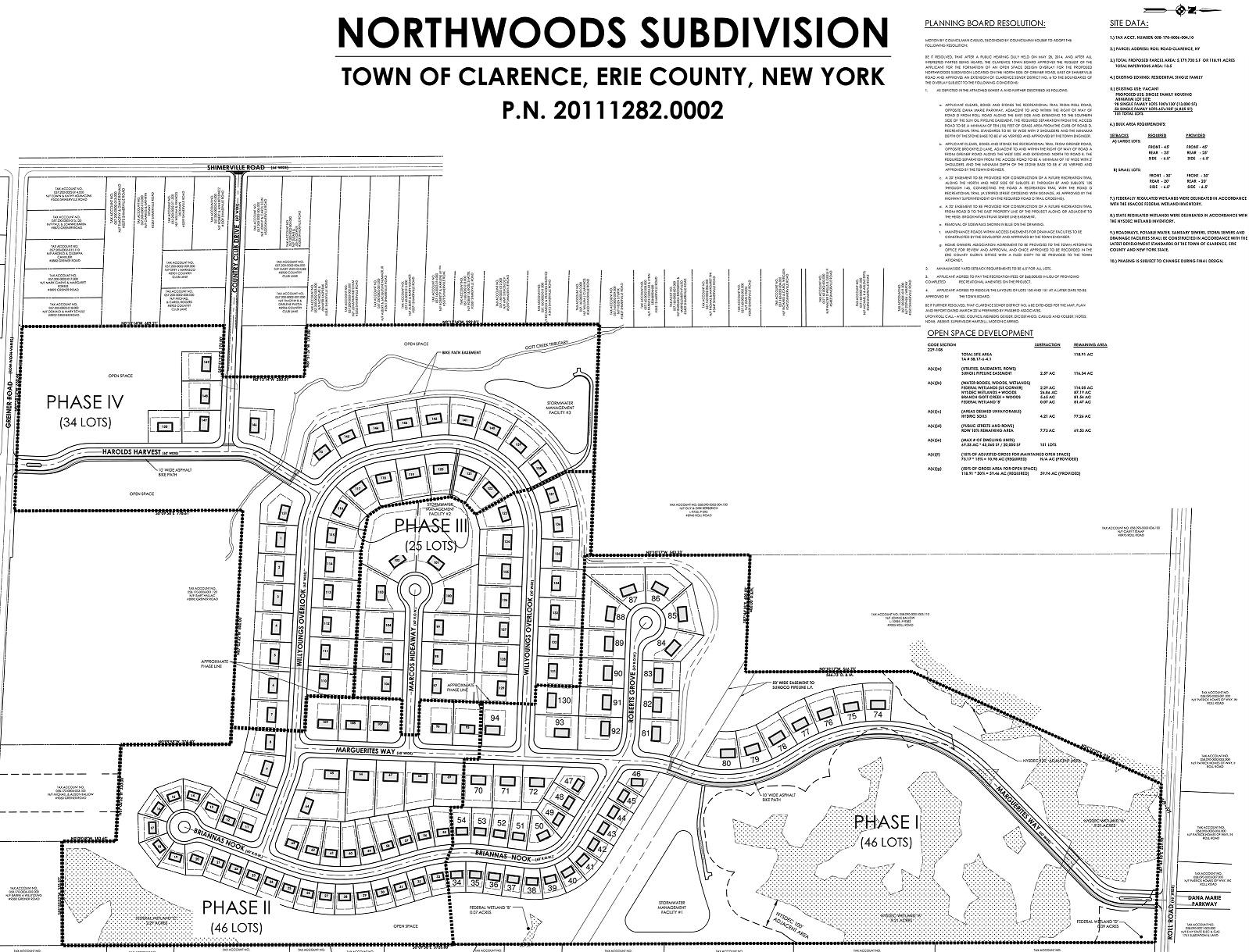 5399 Briannas Nook Development Plot