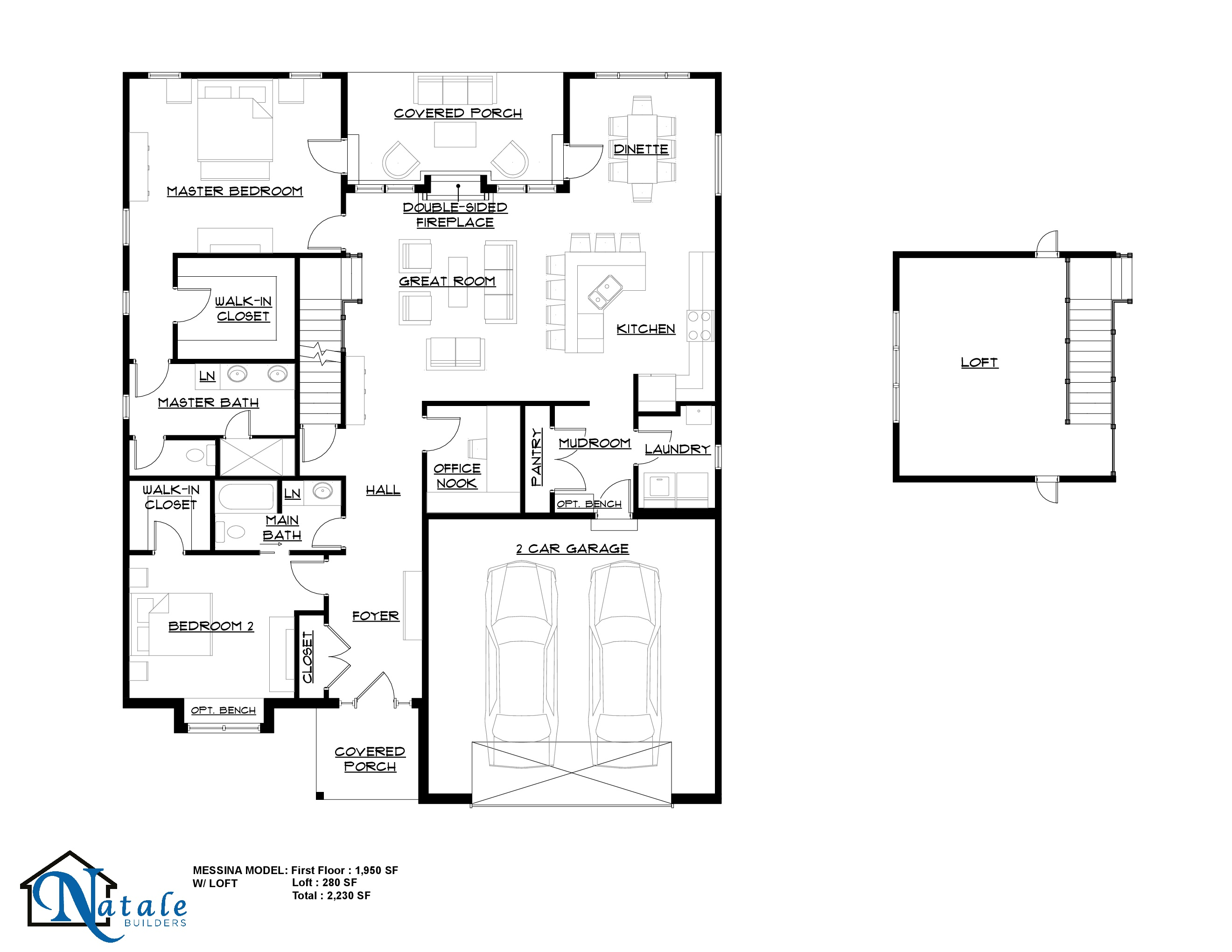 131 Nicole Court Floor Plan