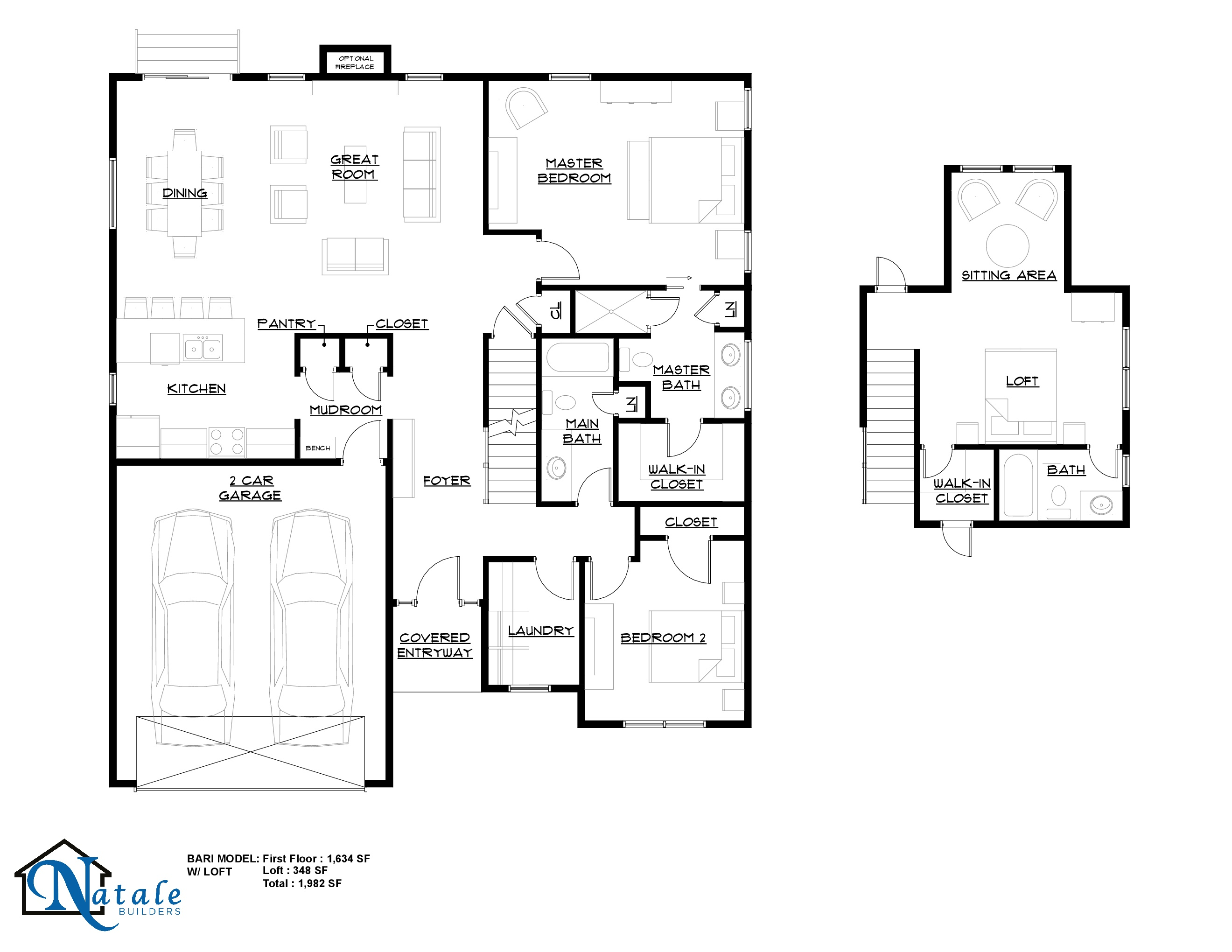 5505 Cooper Ridge Floor Plan