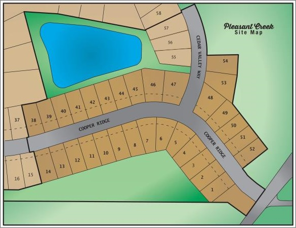 5543 Cooper Ridge Development Plot