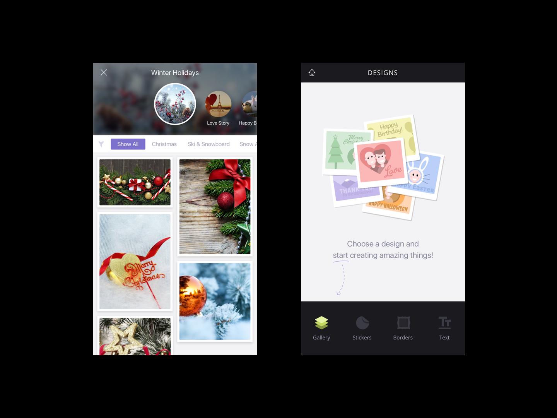 UI App Design: Photomania