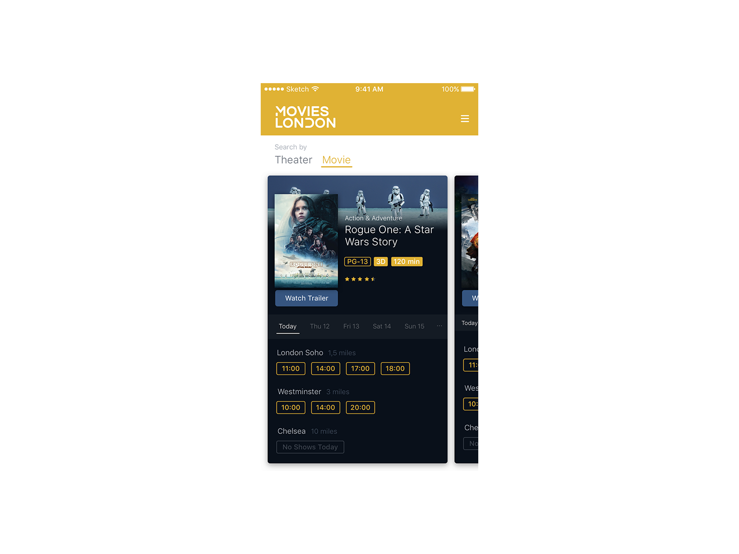 UI App Design: Boarding Pass