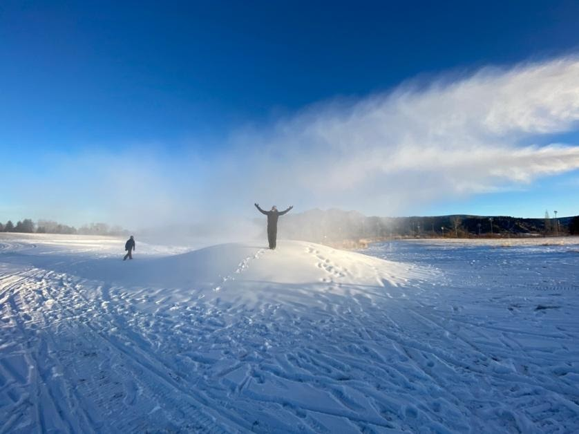 A picture containing sky, outdoor, snow, natureDescription automatically generated