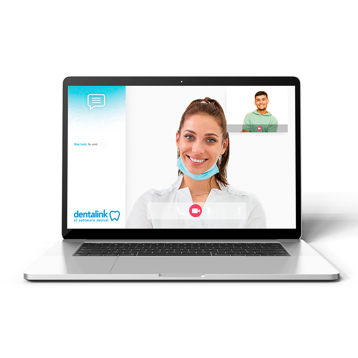 telemedicina video consulta software dentalink