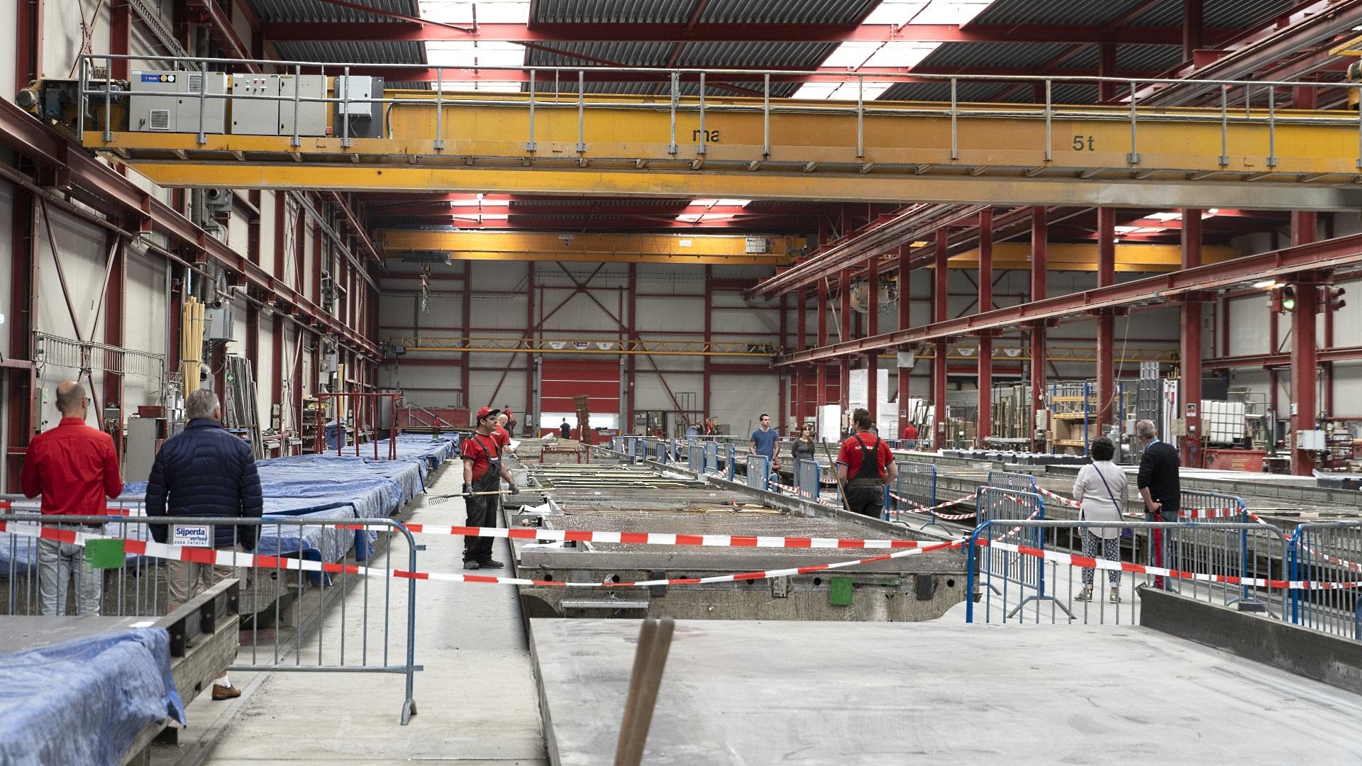 Open dag bij Spaansen Bouwsystemen in Harlingen tijdens de Dag van de Bouw