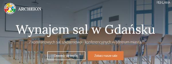 Sale szkoleniowe w Gdańsku