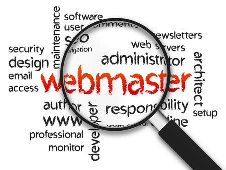 webmaster and web master services