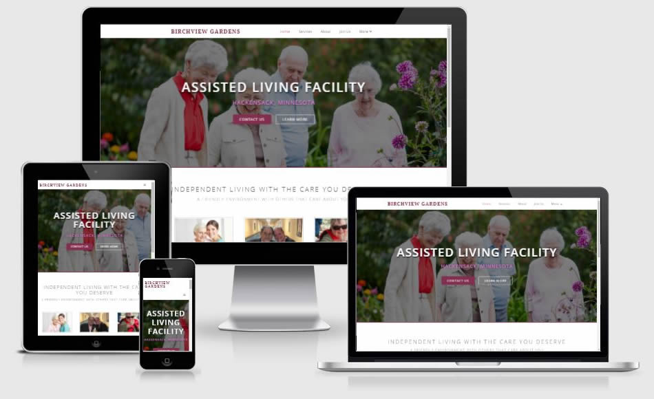 assisted living website