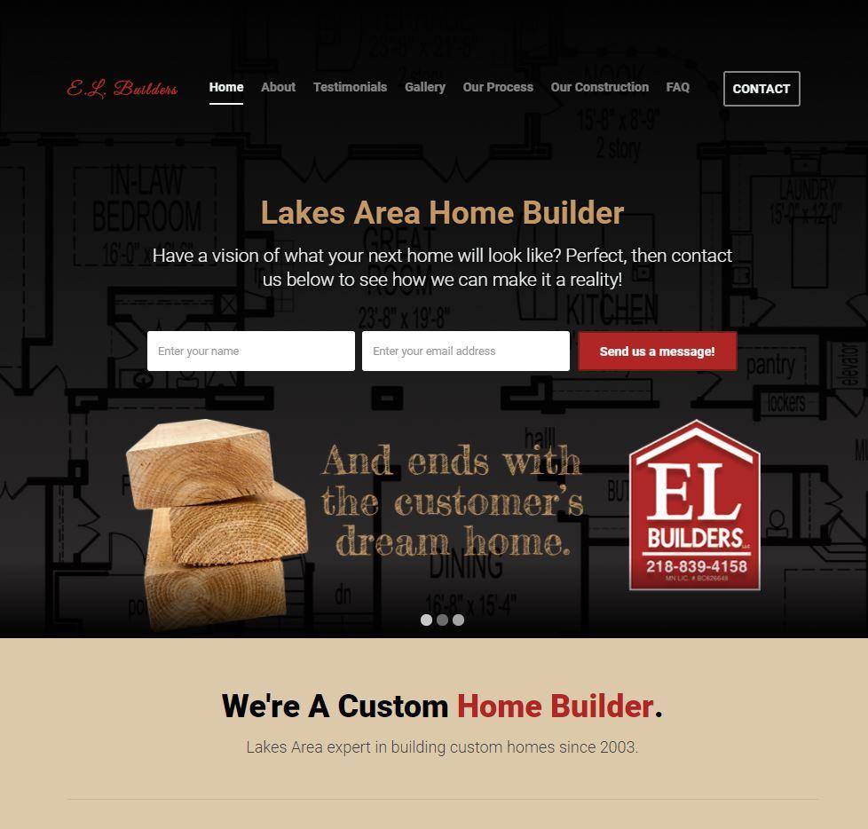 home builder website