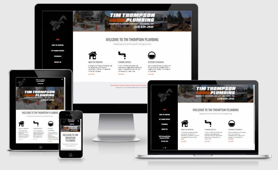 plumbing websites brainerd mn