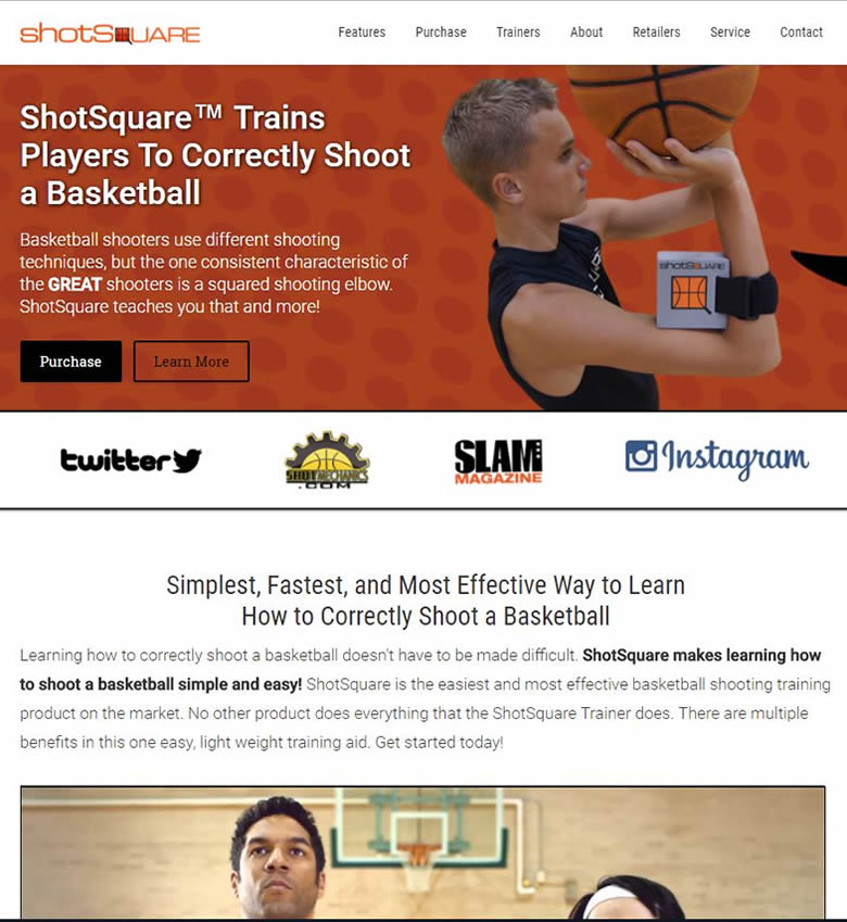 basketball training website
