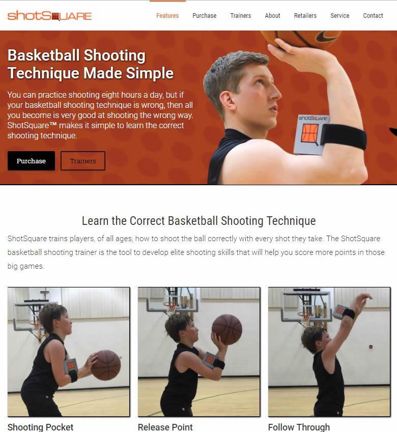 how to shoot a basketball website