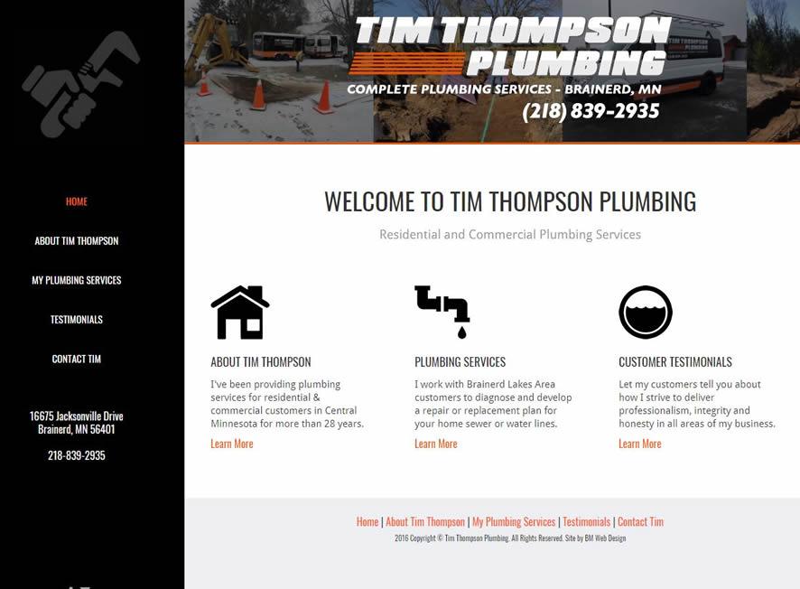 plumber website