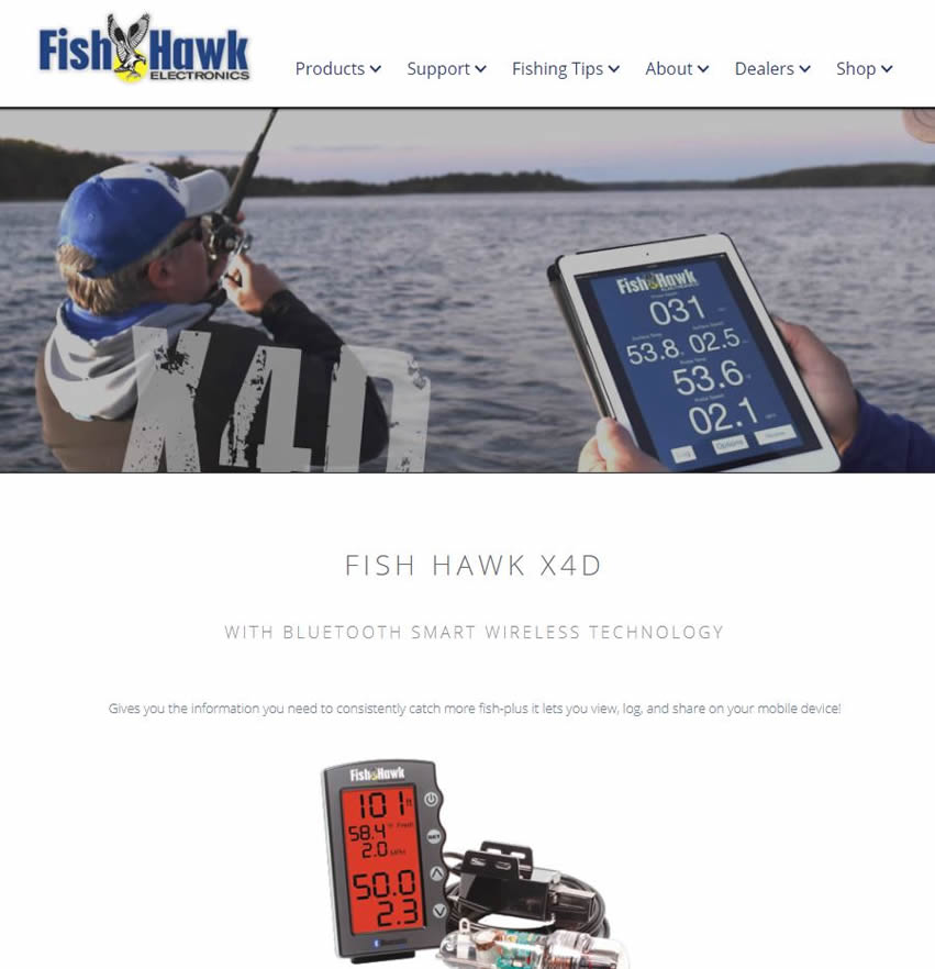 fish finder website
