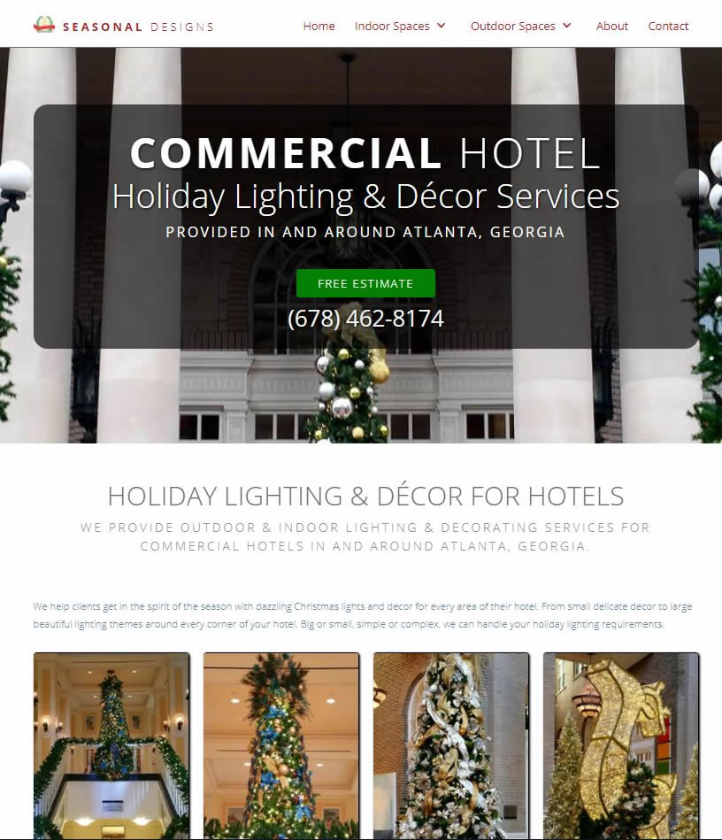 commercial decorating website
