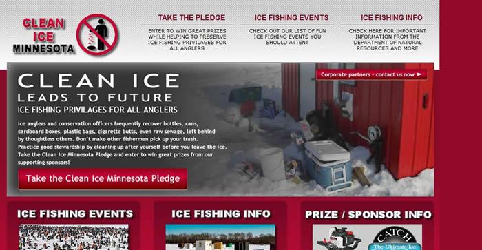 ice fishing website