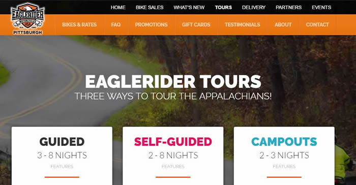 motorcycling website