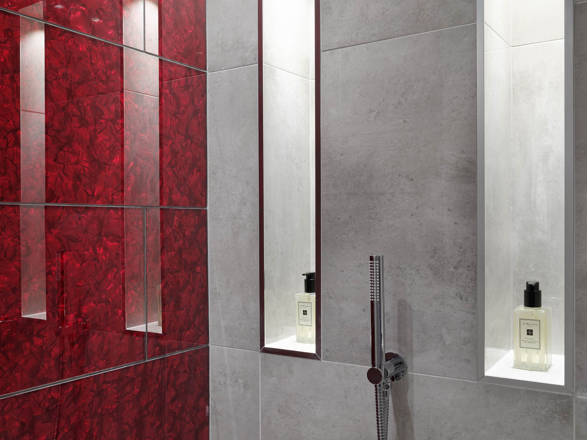 Chelsea Luxury Penthouse completed shower room design
