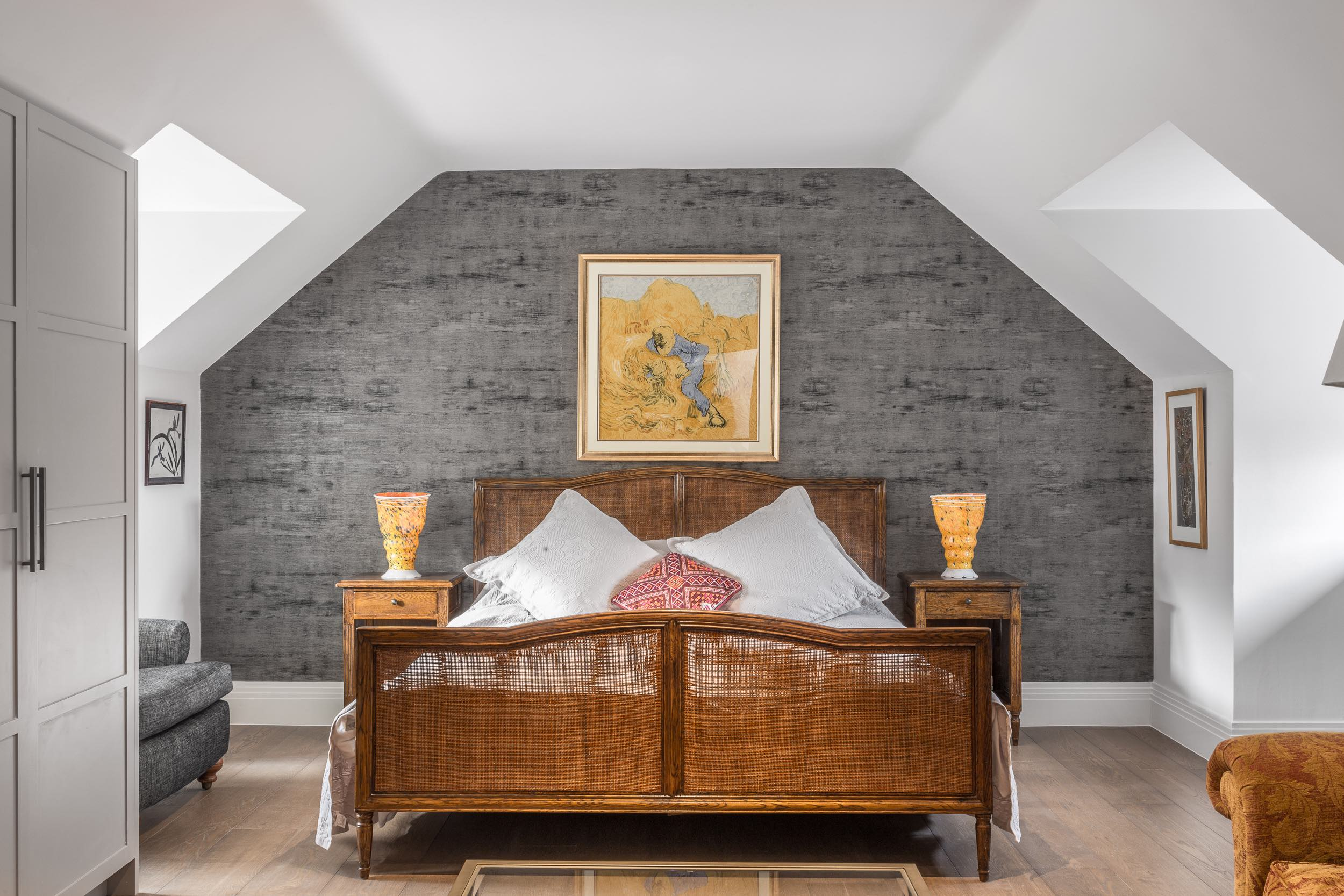 Master bedroom and luxury loft room conversion for Southfields project