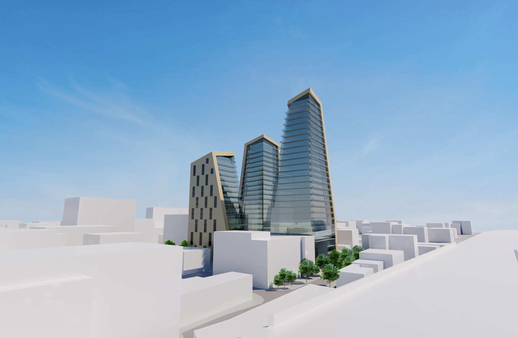 Romford Development 3D architect's design